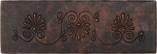 "Copper Tile (TL000) 2""x 6"" Fernale Design *free shipping*"