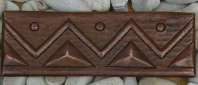 """TL006-2""""x 6"""" Triangle Design"""