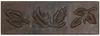 Blowing leaves copper tile liner