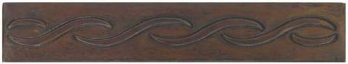 designer copper tile liner