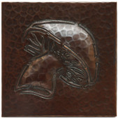 Copper Tile (TL202) Mushroom Design *free shipping*