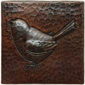 Baby Bird Design Copper Tile TL213