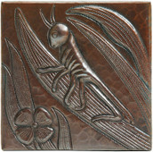 Copper Tile (TL261) Grasshopper *free shipping*