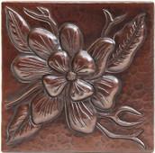 Copper Tile (TL262) Wildflower Design