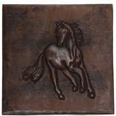 Copper Tile (TL323) Colt Design *free shipping*