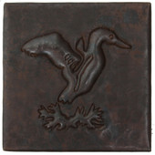 Copper Tile (TL326) Flying Duck Design *free shipping*