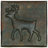 deer design copper tile