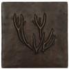 Deer Antlers design copper tile