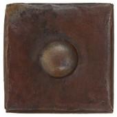 "Copper Tile (TL502BTN) 2""x 2"" Button Design"