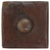 Button design copper tile