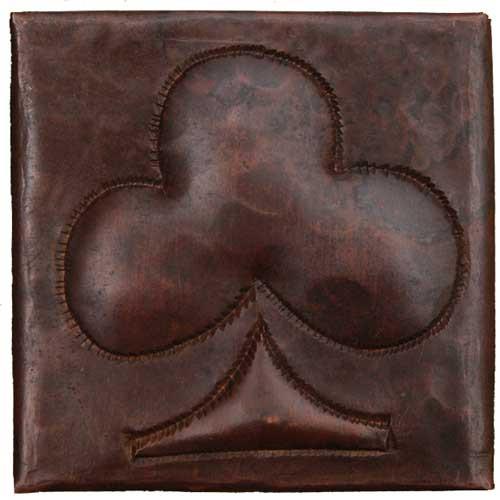 Club design copper tile