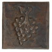 """Copper Tile (TL502GRP) 2""""x 2"""" Grape Design *free shipping*"""