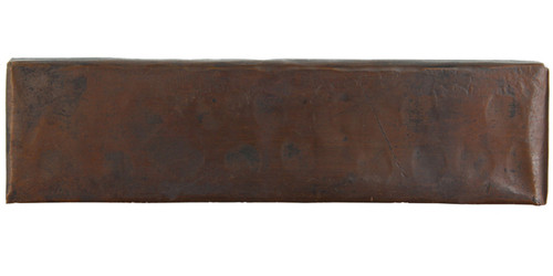 Hammered design copper tile