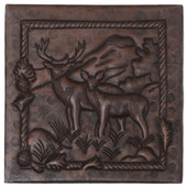 Copper Tile (TL713) Two Bucks Design *free shipping*