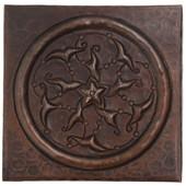 Circle Design Copper Tile TL852