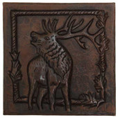 Elk copper tile