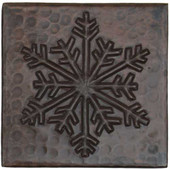 Copper Tile (TL965) Traditional Snowflake Design *free shipping*