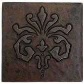 Abundance Design Copper Tile TL978