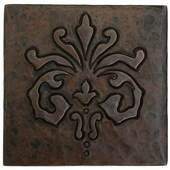 Copper Tile (TL978) Abundance Design *free shipping*