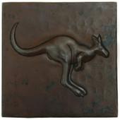Copper Tile (TL996) Kangaroo Design *free shipping*