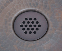 Copper Sink 19 Hole Grid Drain for Bath Sinks BGD1DK