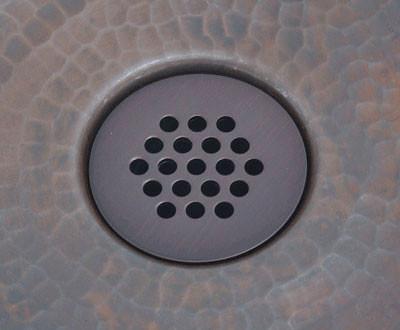 Copper Sink 19 Hole Grid Drain for Bath Sinks BGD1DK