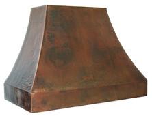RH004 - Hammered Copper Range Hood.