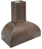 Hammered Copper Range Hood (RH007)-(Base Price) Prices Vary by Size.