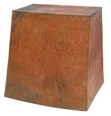 Hammered Copper Range Hood (RH008)-(Base Price) Prices Vary by Size.