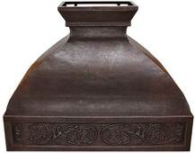 Hammered Copper Range Hood (RH011)-(Base Price) Prices Vary by Size.