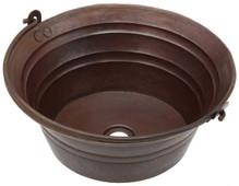 BKT17-Round Bucket Sink