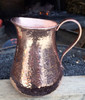 PIT-MED, Hammered copper pitcher