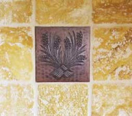 Copper Tile (TL) Tile Install Ideas