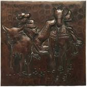 Hammered Copper Rodeo Design TL232