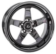 Cosmis Racing XT005R 18x9 +25 5x114.3 Black Chrome