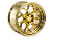 18x9.5/10.5 Aodhan DS01 5x114.3 +15/22 Gold Vaccum