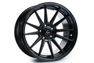 Cosmis Racing R1 18x8.5 18x9.5 +35 5x120 Black