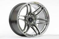 Cosmis Racing MRII 17x9 +10 5x114.3 Hyper Black
