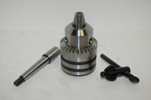 "MT1 Heavy Duty Drill Chuck 5/8"" - Morse Taper 1 - for Drill Press"