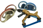 BLUEROCK 40A & 100 Belts Pipe Polisher Belt Sander (Belts fit Metabo)