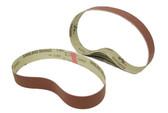 BLUEROCK Pack of 5 #1000 Grit Sandpaper Aluminum Oxide Sanding Belts for BBS-40A Polisher/Grinder