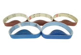 BLUEROCK 40A Pack of 5 Sanding Belts Sandpaper