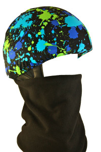 Paint Splash Helmet Cover with Gator