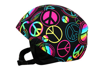 Peace Out Helmet Cover