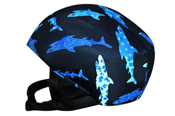 Shark Bite Helmet Cover