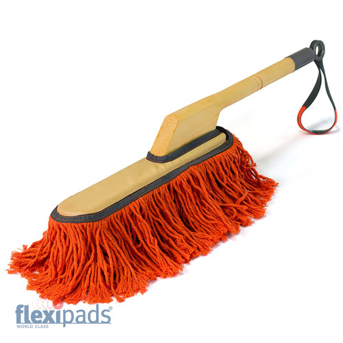 CALIFORNICATION Car Duster - Wooden Handle