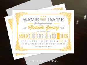 Wedding - Save the Dates - Modern / Vintage / Geometric - Page 1 ...