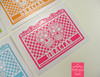 Papel Picado & Sugar Skulls Gracias or Thank You Card Folded
