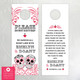Sugar Skull Swirls Do Not Disturb Wedding Door Hangers