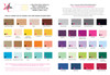 Envelope color upgrades / backing color swatches